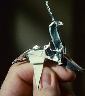 Blade Runner - The Unicorn  From what I noticed There were ruffly 3 objects the unicorn, a chicken  and match sticks (I'm not entirely sure if they were shaped like a man)