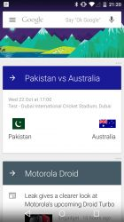 Android 5.0 Tour: Google Search