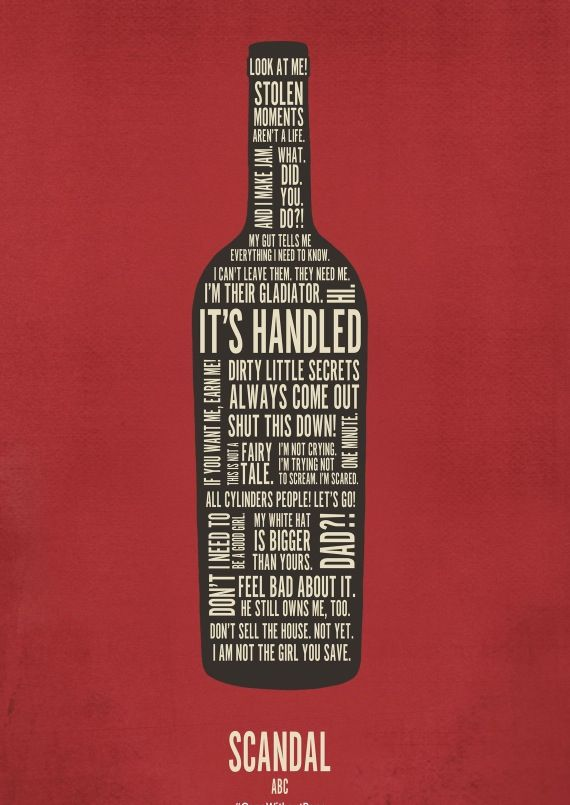 Its #ScandalThursday! Do you know where your #wine is?!?