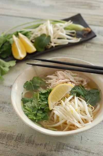 稲庭うどんのフォー   レシピブログ - 料理ブログのレシピ満載!