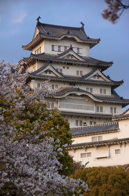Himeji Castle in spring, Hyogo, Japan