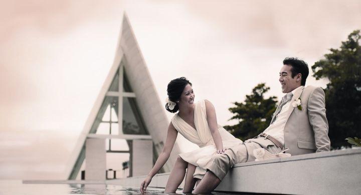 Wedding ar CONRAD Bali