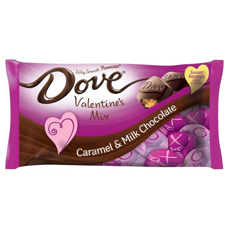 Dove Caramel & Milk Chocolate Valentines Mix 7.94oz