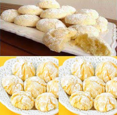 Noi donne in cucina: Biscotti di frolla al limone