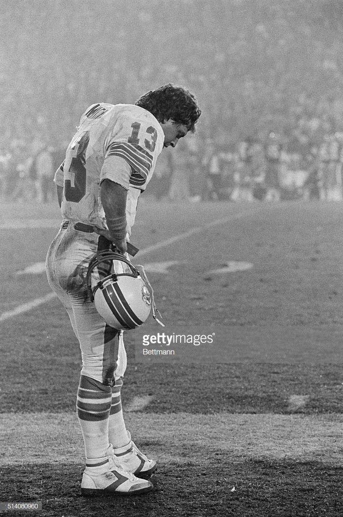 The Last Quarterback Of The Quarterback Class Of 1983 To Be Taken In The First Round Marino Held Or C Miami Dolphins Football Miami Dolphins Dolphins Football