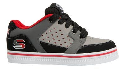 Skechers - Kickturn - Grey/Red