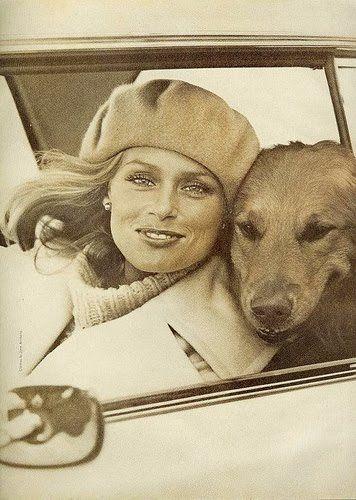 dog and beret!