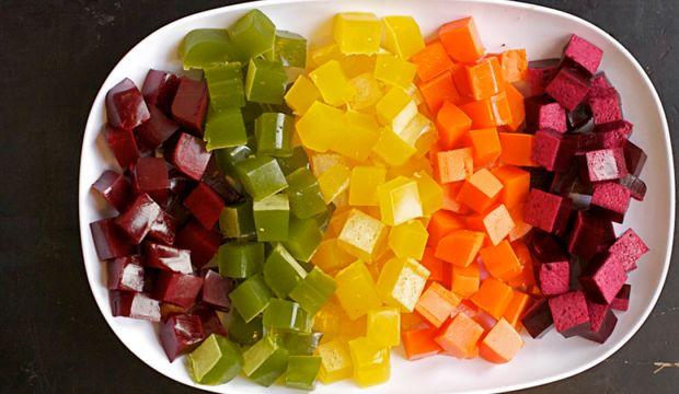 Dietní domácí želé bonbóny