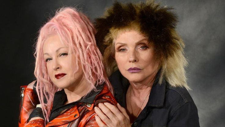Cyndi Lauper and Debbie Harry of Blondie will tour Australia together. Picture: ©Jennifer S. Altman