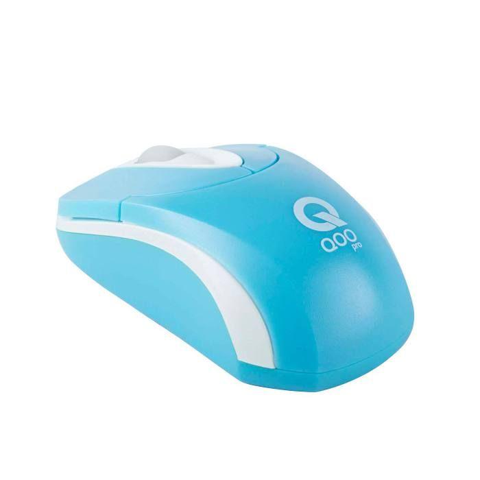 #Raton Optico USB QOOpro P305D Azul 800 DPI  en  http://www.opirata.com/raton-optico-qoopro-p305d-azul-p-7921.html