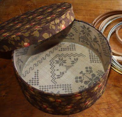 Blackbird Designs Tutorial - the covered box.  Part 2