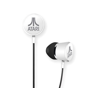 33 best awesome gaming accessories images on pinterest gaming atari in ear headphones white fandeluxe Images