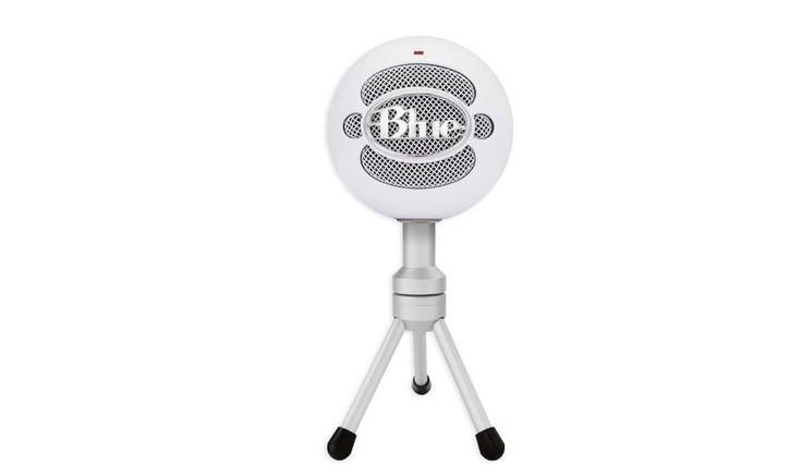 Blue Microphones Snowball iCE USB Microphone with Desktop Stand Music Podcasting #BlueMicrophones