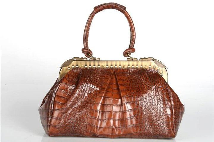 """Mala de pele """"MA Handbags"""""""