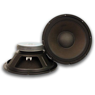 "Seismic Audio - Pair (2) of 12"" Raw Woofers/Speakers - PA/DJ - Replacement PRO AUDIO by Seismic Audio. $99.99. Pair of 12"" Pro Audio Replacement DriversModel #: Seismic Audio - Quake 12 (Set of 2)Type: 12"" Woofer/Speaker Power RMS: 150 Watts Power Peak: 300 Watts Frequency Response: 55-5K Hz Sensitivity: 97 db Magnet: 50 oz  Voice Coil: 2.5"" Impedance: 8 Ohm Pressed Steel Chassis Paper cone Weight: 10 lbs eachThese speakers are brand new. One year warranty Listing is..."