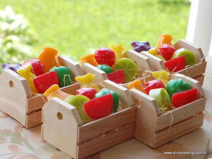 Feirinha de frutas em sabonete R$22.00