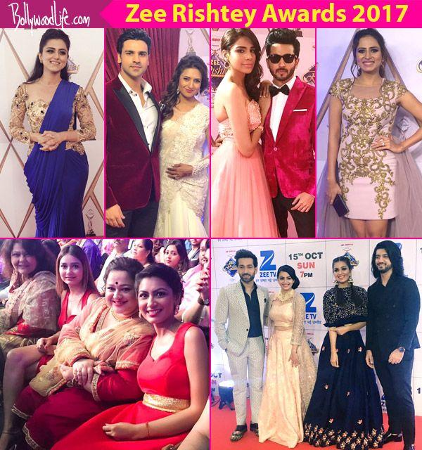 Zee Rishtey Awards 2017: Ankita Lokhande, Divyanka Tripathi, Sriti Jha, Dheeraj Dhoopar, Sargun Mehta grace the red carpet –… #FansnStars