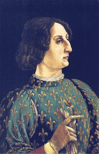 Piero del Pollaiuolo - Portrait of Galeazzo Maria Sforza (1471)