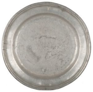 Antique Pewter Plate - Traditional - Dinner Plates - by Jayson Home