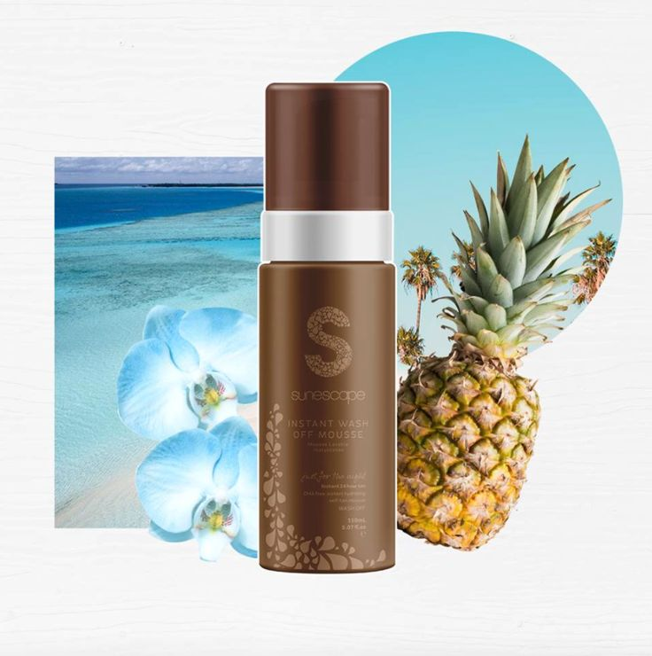 Mousse on, wash off! Whether it's for a one night tan, or a day long glow, enhance your skin with our Instant 24 hour wash off tan. Just glow & go, without the commitment. #sunescapetan