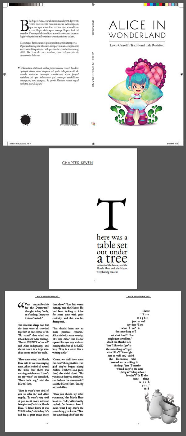 how to create interesting pages on indesign