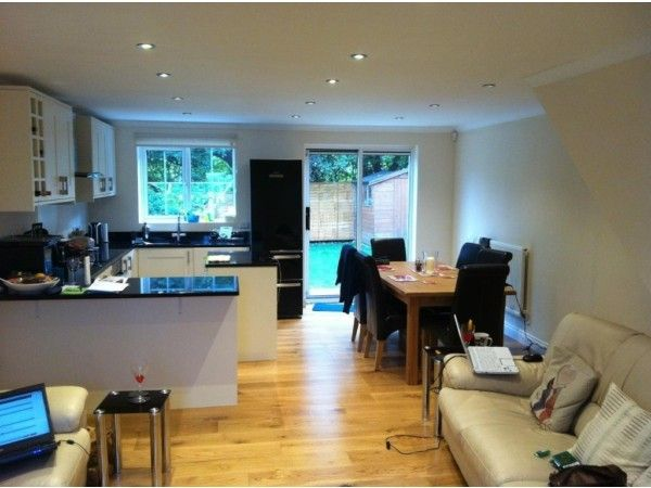 Open Plan Kitchen And Living Room Lower Conversion In Bath Part 96