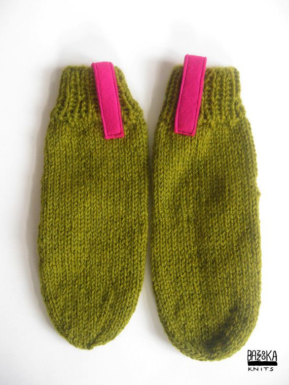 SALE Green mittens 30 off by bazzooka on Etsy, $21.00