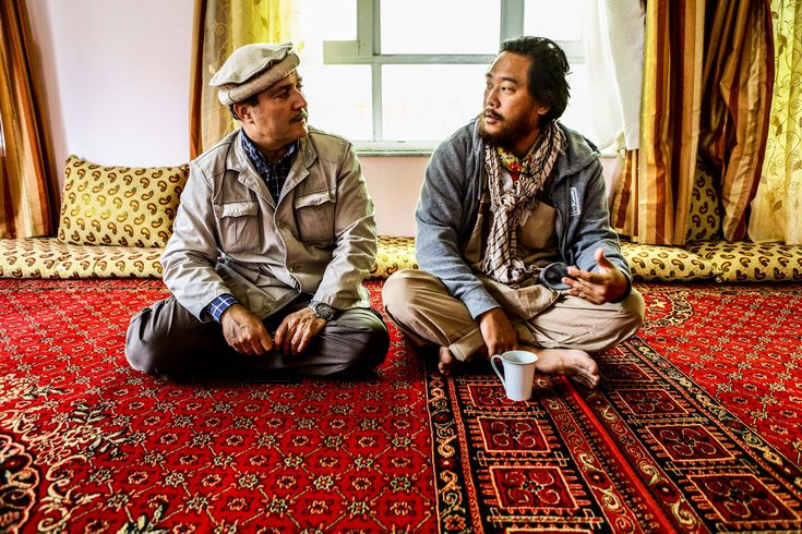 Juxtapoz Magazine - David Choe: Afghanistan Tour Diary, the Outtakes- photography by Los Angeles based photographer, Estevan Oriol