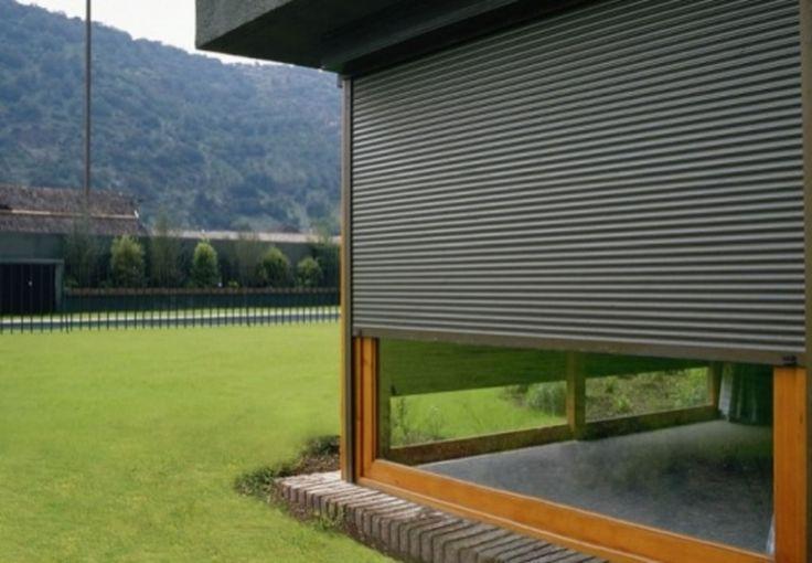 Las 25 mejores ideas sobre persianas de aluminio en for Ventanas con persianas incorporadas