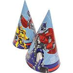 Hats: Transformers Party Cone Hats x8pk