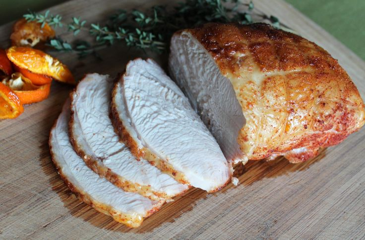 Skip The Slimy Deli Meat And Make Your Own Simple Smoky Roast Turkey Breast Paleo Recipes