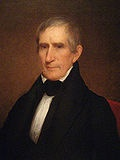 William Henry Harrison (February 9, 1773 – April 4, 1841) was the ninth President of the United States (1841), an American military officer and politician, and the first president to die in office. He was 68 years, 23 days old when inaugurated, the oldest president elected until Ronald Reagan in 1981, and last President to be born before the United States Declaration of Independence. Harrison died on his 32nd day in office[a] of complications from pneumonia, serving the shortest tenure in…