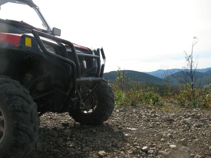 Mountain top view.