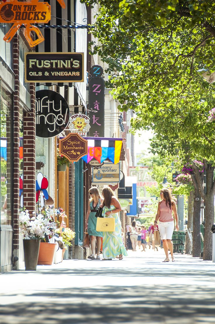 Traverse City, MI in Michigan.I have been here several times. Beautiful downtown area!