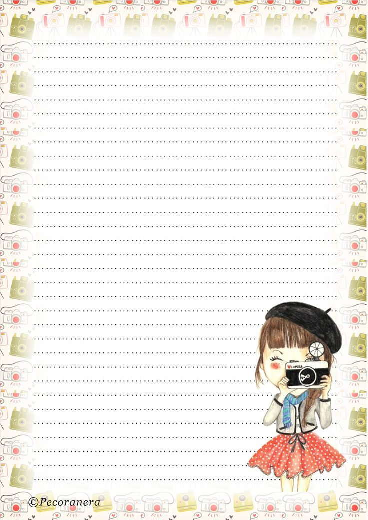 382 best Lined Stationary images on Pinterest Article writing - free printable lined stationary