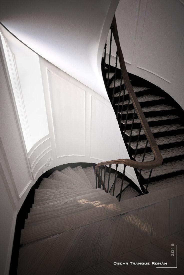 Escaleras antiguas