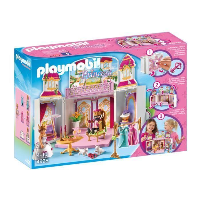 Playmobil 4898 Princess Coffre Cour Royale Playmobil Playmobil Princesse Et Coffre