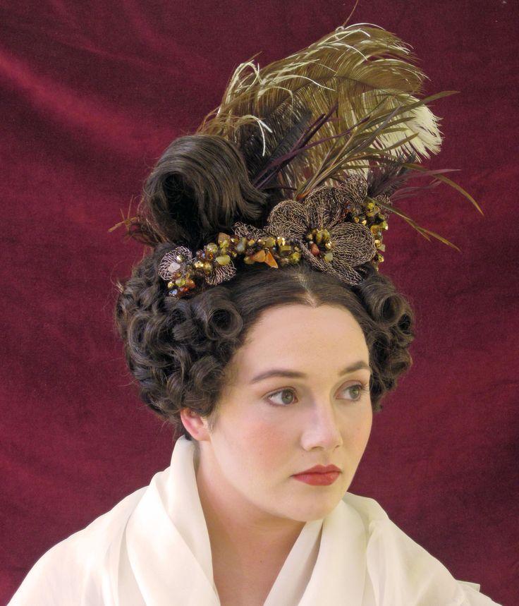 romantic era hair design