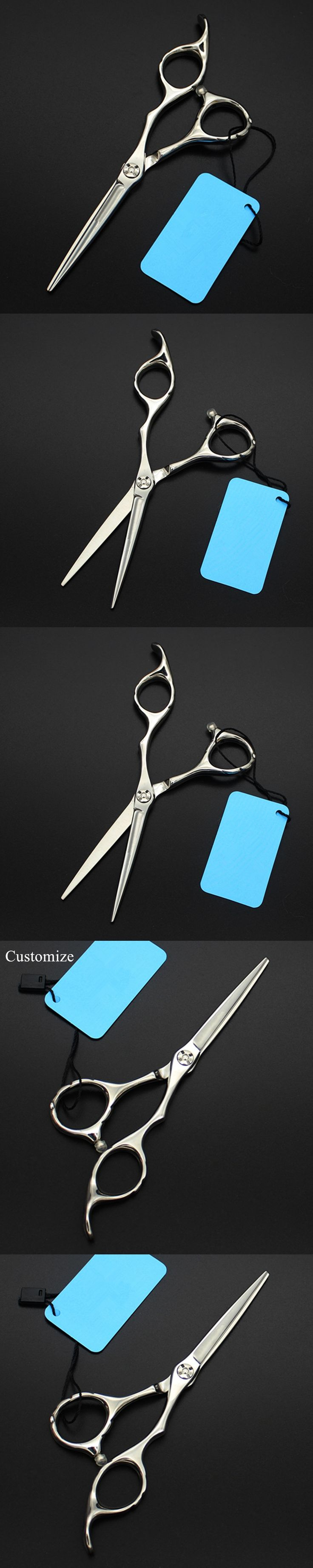 Customize Japan steel 5 inch small hair salon scissors nose trimmer eyebrow cutting barber eyebrows shears hairdressing scissors