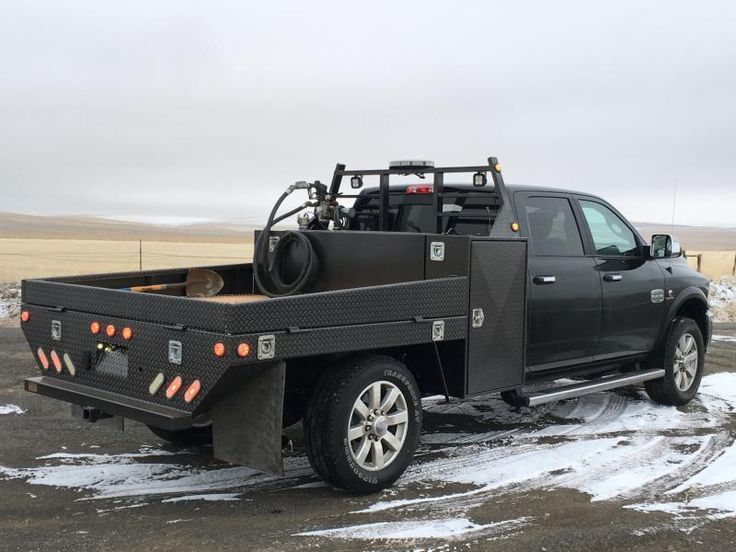 Doherty Welding LLC Can Customize Your Flatbed To NeedsStandard Features On A Packy Built Include Steel Fold Down RacksUnder Bed