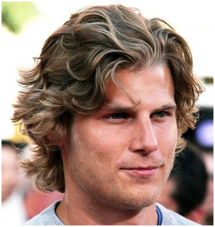 Mens Hairstyles Long Wavy Fun Hairstyles For Men Mens