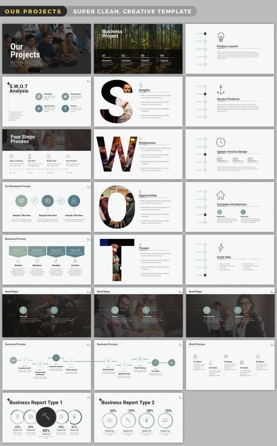 Wild Powerpoint Presentation by batzorig.regzen on Creative Market: