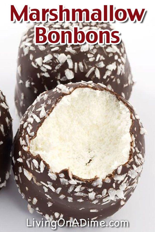 Easy Marshmallow Bonbons Recipe