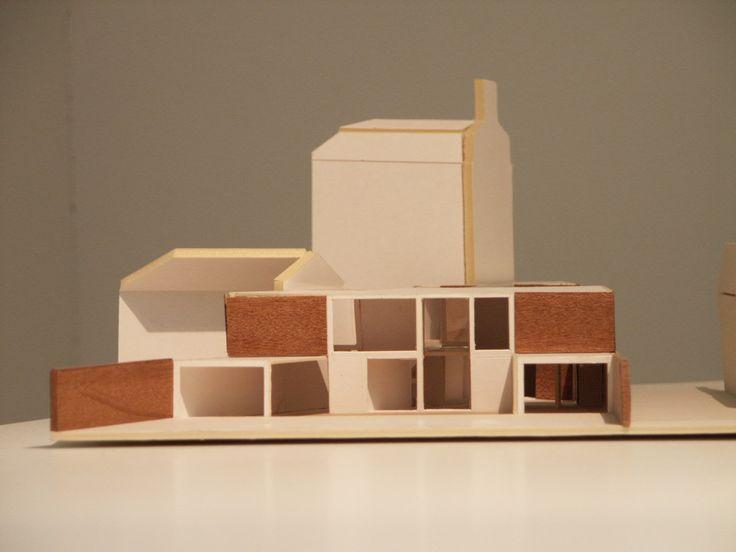 model- brick Charles Barclay Architects http://cbarchitects.co.uk