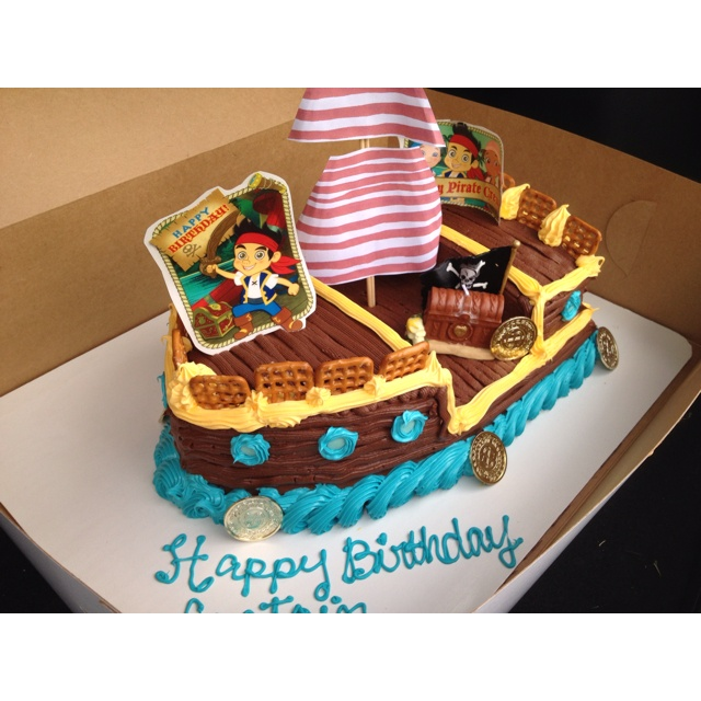 Jake and the Neverland Pirates: Cakes Ideas, Bday Ideas, Pirates Birthday, Pirates Parties, Birthday Jake, Bday Parties, Pirates Cakes, Birthday Ideas, Birthday Cakes