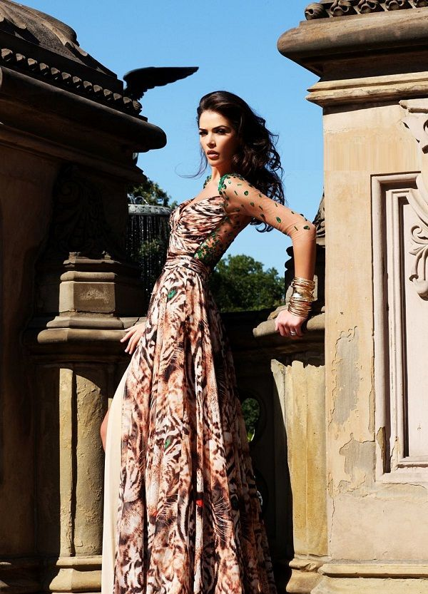 DCTE92181 evening dress PRINTS... Rock them or Ditch them?