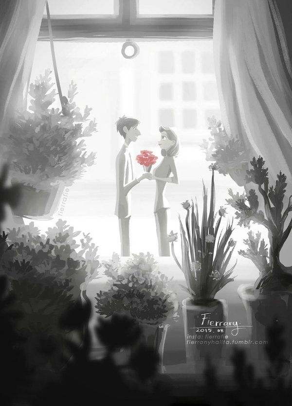 You are The Flower of My Heart by Panda-neko-pyon.deviantart.com on @DeviantArt