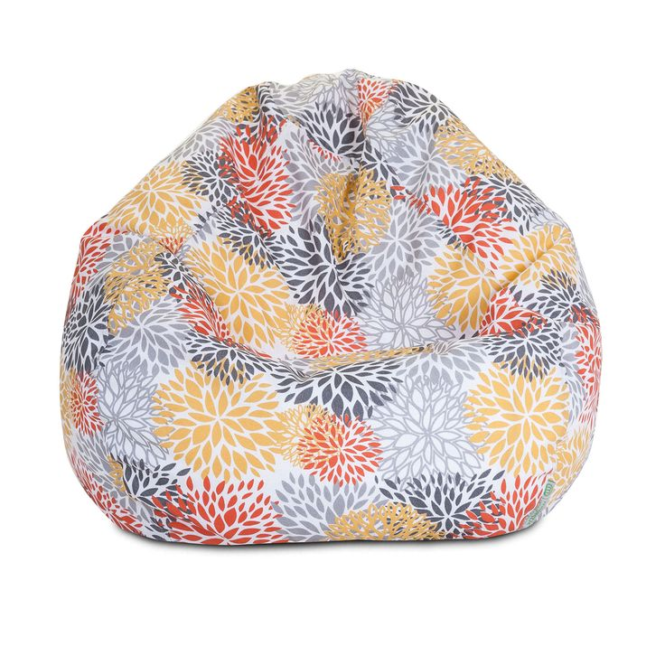 With The Classic Comfort Of A Beanbag Chair Combined Durable And Fade Resistant Fabric This Piece Is True Luxury Colorful Zippered Slipcover