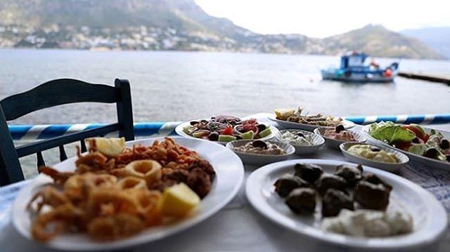 #meze with a #view #food #foodpics #foodporn #foodlover #foodie #instafood #greece #greek #greeceblogger #greeceholiday #greecestagram #greeklife #instatravel #instapic #instagreece #picoftheday