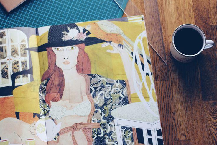 On the blog: Inspiration time with Riikka Sormunen's illustrations